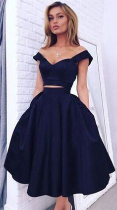 2016 homecoming dress, black homecoming dress, two-piece homecoming dress, party…