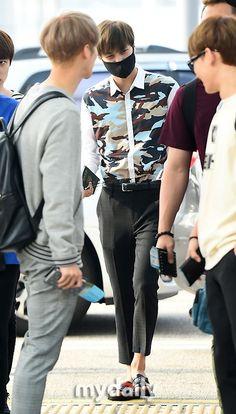 140727- EXO Kai (Kim Jongin) @ Incheon Airport to Changsha Airport #exok #men #fashion #style