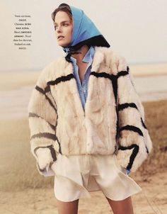 Shannan Click by Laura Sciacovelli for Elle France January 9, 2015 chloe