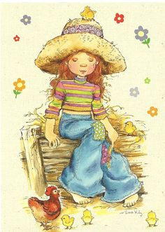 My Sarah Kay, Constanza, Belle and Boo collection - - Λευκώματα Iστού… Sarah Key, Vintage Pictures, Cute Pictures, Mary May, Belle And Boo, Illustrations Vintage, Travel Drawing, Holly Hobbie, Jolie Photo