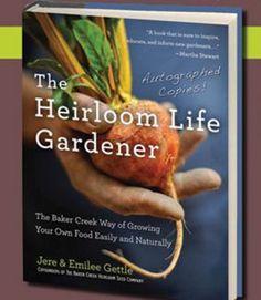 The Heirloom Life Gardener Book. Read the full review at www.vegetablegardener.com