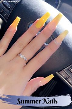What Christmas manicure to choose for a festive mood - My Nails Halloween Acrylic Nails, Best Acrylic Nails, Cute Nails, Pretty Nails, My Nails, Engagement Nails, Yellow Nails Design, Fall Nail Colors, Stylish Nails