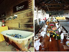 Loving these barn weddings. Makes me want to have a barn party.