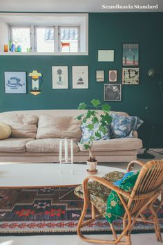 Danish Living Room | Objects