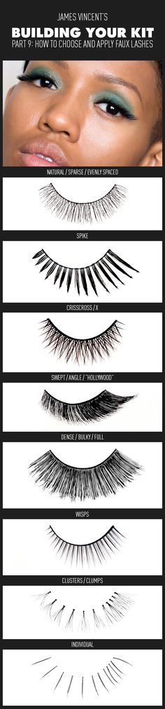 My latest piece is up on Beautylish Building Your Kit Part 9: How to Choose and Apply Faux Lashes
