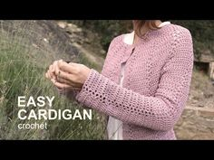 Subscribe here!! http://bit.ly/1LMYlTG More free patterns here http://www.lanasyovillos.com How to crochet a cardigan, fast and easy. Find sizes from S to XL...