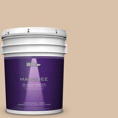 BEHR MARQUEE 5 gal. #S240-3 Ash Blonde One-Coat Hide Eggshell Enamel Interior Paint