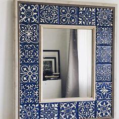 Indian Home Interior Diy Garden Decor, Diy Home Decor, Room Decor, Tile Crafts, Mosaic Diy, Interior Decorating, Interior Design, Interior Modern, Decorating Ideas