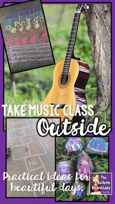 Take Music Class Outside | Elementary Music Education | Kindergarten
