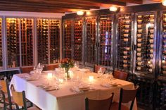 Wine 30, cellar, table for 8