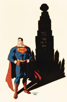 Superman Superman Love, Superman Man Of Steel, Superman Comic, Superman Family, Superman Stuff, Superman Artwork, Action Comics 1, Character Drawing, Comic Character