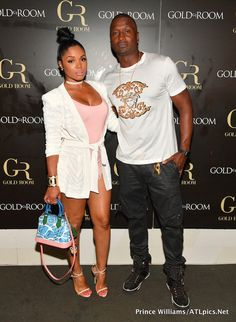 10 Rasheeda Frost's Gold Room Louis Vuitton Cruise 2016 Pink, Blue, and Green Printed Epi Petite Malle Bag Star Fashion, Daily Fashion, Love Fashion, Fashion News, Fashion Trends, Rasheeda Frost, Balmain Jacket, Kandi Burruss, Gold Rooms