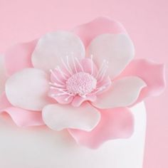 How to make a five petal fantasy flower and lots of other tutorials for cake, cookie & cupcake making