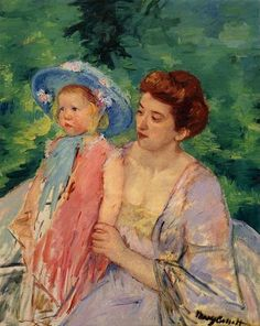 Mary Cassatt Boat, Bath