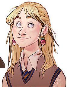 Luna Lovegood, Harry Potter Fan Art by Alex Roman