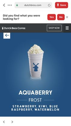 Dutch Bros Menu, Dutch Bros Secret Menu, Dutch Bros Drinks, Fun Drinks, Yummy Drinks, Beverages, Holiday Drinks, Smoothie Drinks, Smoothies