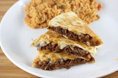 Preparing Mexican flavored shredded beef in the slow cooker is a great way to make meat for quesadillas, tacos, enchiladas or burritos.