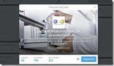 Nueva cuenta en Twitter de Laboratorios Sanofi