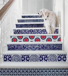 Stairway to style heaven. #interiordesign