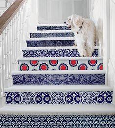 Stairway to style heaven. #interiordesign
