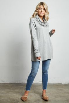 STYLE # 182467 Web Exclusive CASUAL LIFE JUNIORS COWL NECK SWEATER $25.99 Athleisure Trend, Athleisure Fashion, Cowl Neck, Make Your Own, Stylish, Casual, Sweaters, Life, Sweater