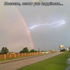 Post with 1745 votes and 27918 views. Lightning striking a rainbow, this moment caught on my Mom's cell phone. Thor, Cool Pictures, Funny Pictures, Funny Pics, Funny Memes, Hilarious, Random Pictures, Beautiful Pictures, Perfectly Timed Photos