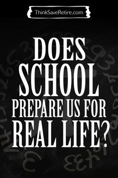 School is rubbish and doesn't teach you facts that will be usable in adult life BUT by getting through it, it does prepare us for real life. How you may ask? Hopefully by teaching us to question EVERYTHING and to learn how to get through things we don't like. What do you think?