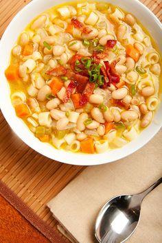 Vegan Winter Minestrone #soup #healthy #recipes