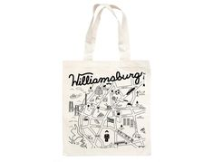 Maptote | Williamsburg Grocery Tote