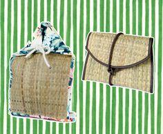 E as bolsas de folha de butiá da Apoena? A mochila sai por R$ 150,00 e a clutch R$ 249!