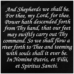 Prayer from The Boondock Saints. Best movie ever.