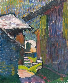 Giovanni Giacometti: Postimpresionismo y colorismo suizo - TrianartsTrianarts