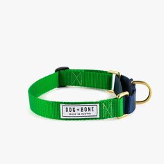 Martingale Collar - Green/Navy