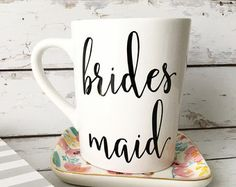 f3e7ba6d90a3d Maid of Honor Mug - Maid of Honor Gift - Matron of Honor Mug - Maid of  Honor Proposal - Maid of Honor Gift - Wedding Party Mug