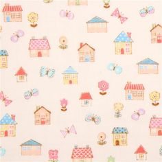 http://www.kawaiifabric.com/en/p11473-light-cream-double-gauze-fabric-colorful-house-butterfly-flower-from-Japan.html