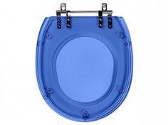 Assento Sanitário Azul Translúcido Massima - para Louça Incepa - Pontto Lavabo