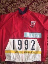 7d8ad307c9c Vintage Polo Ralph Lauren Stadium Plates 1992 Ski Snow Beach SzL Pwing Rare  Bear - Sold on eBay 9-9-15 for  1
