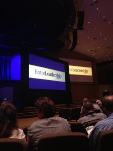 The crowd prepares for the #EntreLeadership session in Houston, Texas. http://www.forthea.com/blog/2012/10/30/entreleadership-our-day-with-dave-ramsey-and-company/