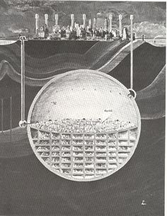 A 1969 plan to build a second, nuke-proof Manhattan below New York City    Oscar Newman
