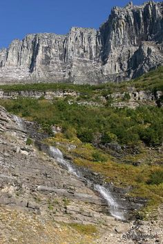 Glacier National Park -- Going-to-the-Sun-highway, near the Garden Wall