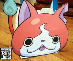 Our Yo-Kai Watch party is just around the corner and I've been hard at work preparing for it. One thing every party needs is party favors. The container for those favors is an important element and provides a great chance to be creative. The favor container needs to fit the party theme to tie it all together.Yo-Kai Watch is a relatively new show to the US so there isn't a whole lot out there as far as ideas go for parties so I decided to make my own.This is what I came up with. These were…