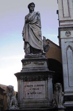Dante Alighieri - Florencie - Itálie