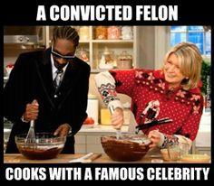 Martha Stewart cooks with Snoop Dogg