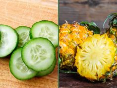 Sixpack Training, Cucumber, Zucchini, Pineapple, Vegetables, Healthy, Food, Comme, Fitness