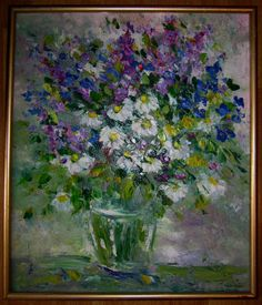Free Shiping Oil painting Impressionism  Still life  от LLiaMoscow, $499.99