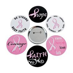 25 Pink Ribbon I Said A Prayer For You Pink Bracelets Oriental Trading Company