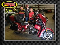 Thanks to Rick and Kim O'Neal from Saraland AL for getting a 2017 Indian Roadmaster at Hattiesburg Cycles #Indian #Roadmaster #Polaris