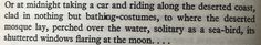 Deserted mosque on beach | Bitter Lemons by Lawrence Durrell, 1957