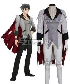 RWBY Qrow Branwen Cosplay Costume(Only Cape and Coat) - Deluxe Edition