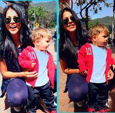 Hoy no estoy para fotos tía!! Jaaa una  #Familia #Jakob #sobrino